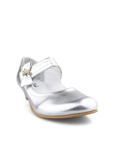 Cicibebe Rugan E Kız Çocuk Abiye Gümüş